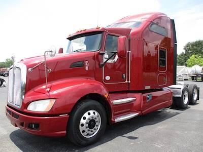 2013 kenworth t660 sleeper semi truck - cummins isx15, 450hp, manual
