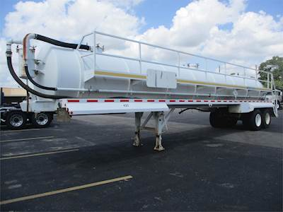 2006 Homemade 48x96 Single Axle Steel Vacuum Tank Trailer - Spring, Fixed  Axle