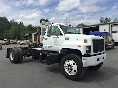 Kodiak Truck For Sale >> 2000 Chevrolet Kodiak C7500 Single Axle Cab Chassis Truck Caterpillar 3126 230hp 7 Spd