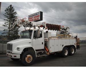 Freightliner FL80 Digger Derrick Truck