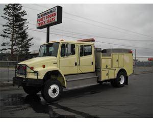 Freightliner FL70 Fire Truck