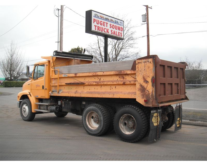 1997 freightliner fl112 heavy duty dump truck for sale pacific wa. Black Bedroom Furniture Sets. Home Design Ideas