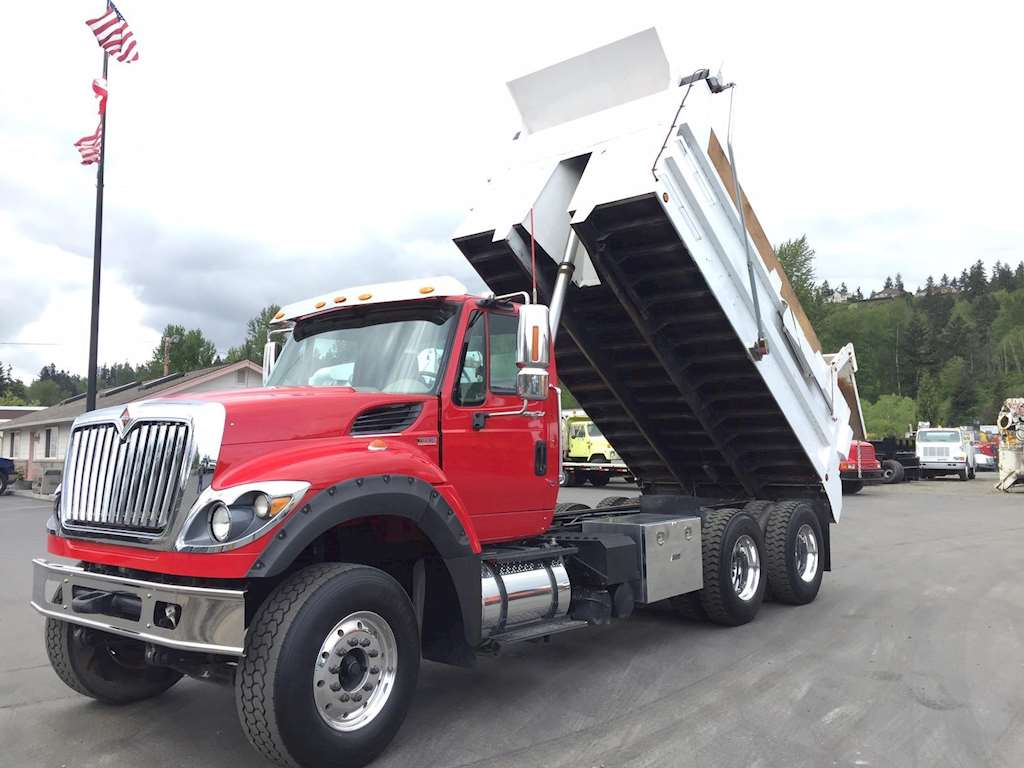 2011 international 7600 heavy duty dump truck for sale 142 662 miles pacific wa 4371. Black Bedroom Furniture Sets. Home Design Ideas