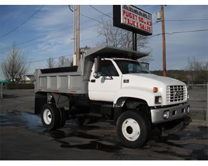 Chevrolet KODIAK C7500 Medium Duty Dump Truck