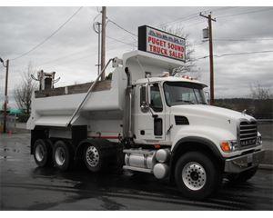 Mack GRANITE CV713 Stone Spreader Truck