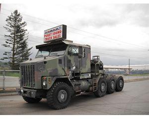 Oshkosh M1070 Winch / Oil Field Truck