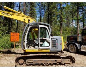 Kobelco SK135SR LC-1 Crawler Excavator