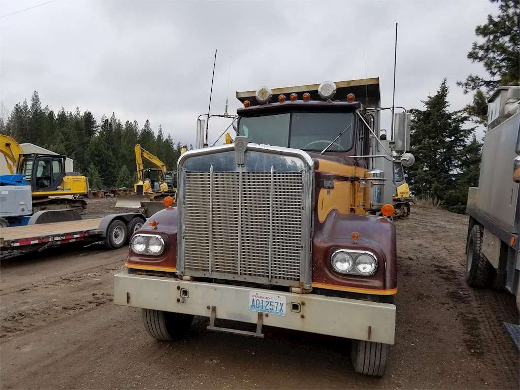 1981 Kenworth W900A Heavy Duty Dump Truck For Sale ...Kenworth Dump Trucks