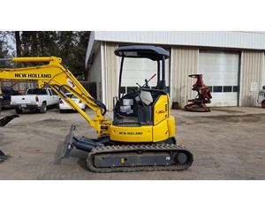 New Holland E30B Mini Excavator