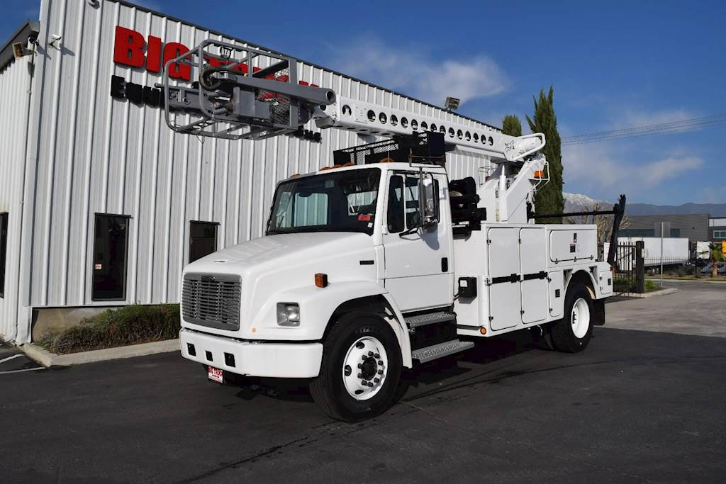 2000 Freightliner FL70 Single Axle Boom / Bucket Truck, Automatic with  TELSTA T40C Aerial Lift For Sale, 170,603 Miles | Fontana, CA | 4711 |
