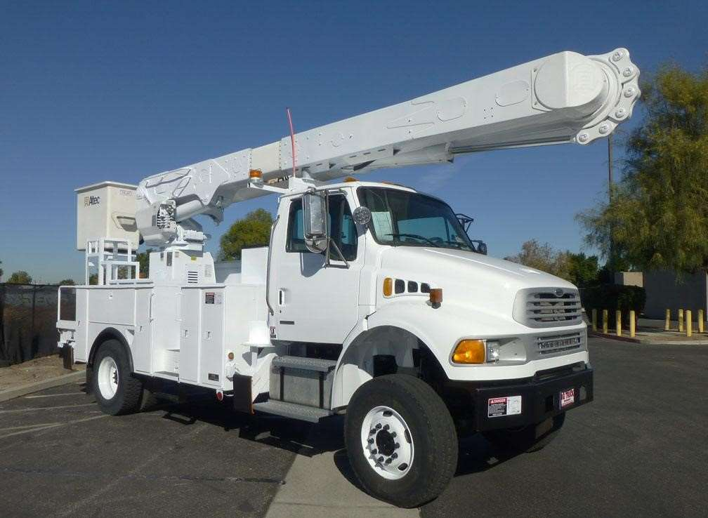 Boom Lift Truck : Altec am mh boom lift for sale norwalk ca