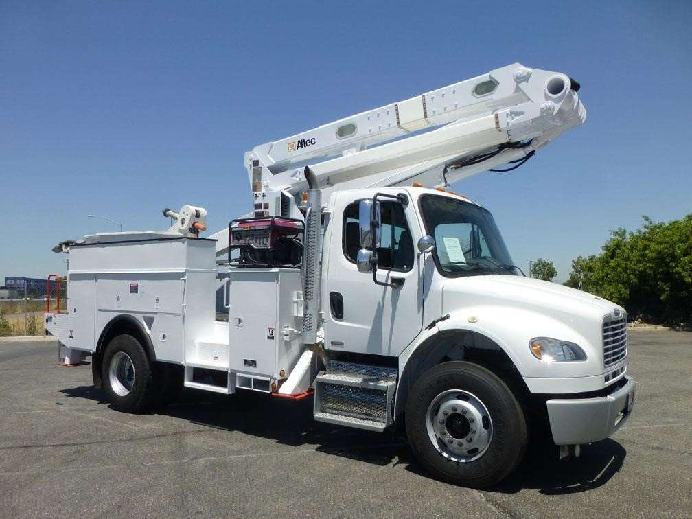 Boom Lift Truck : Altec ta boom lift for sale hours norwalk