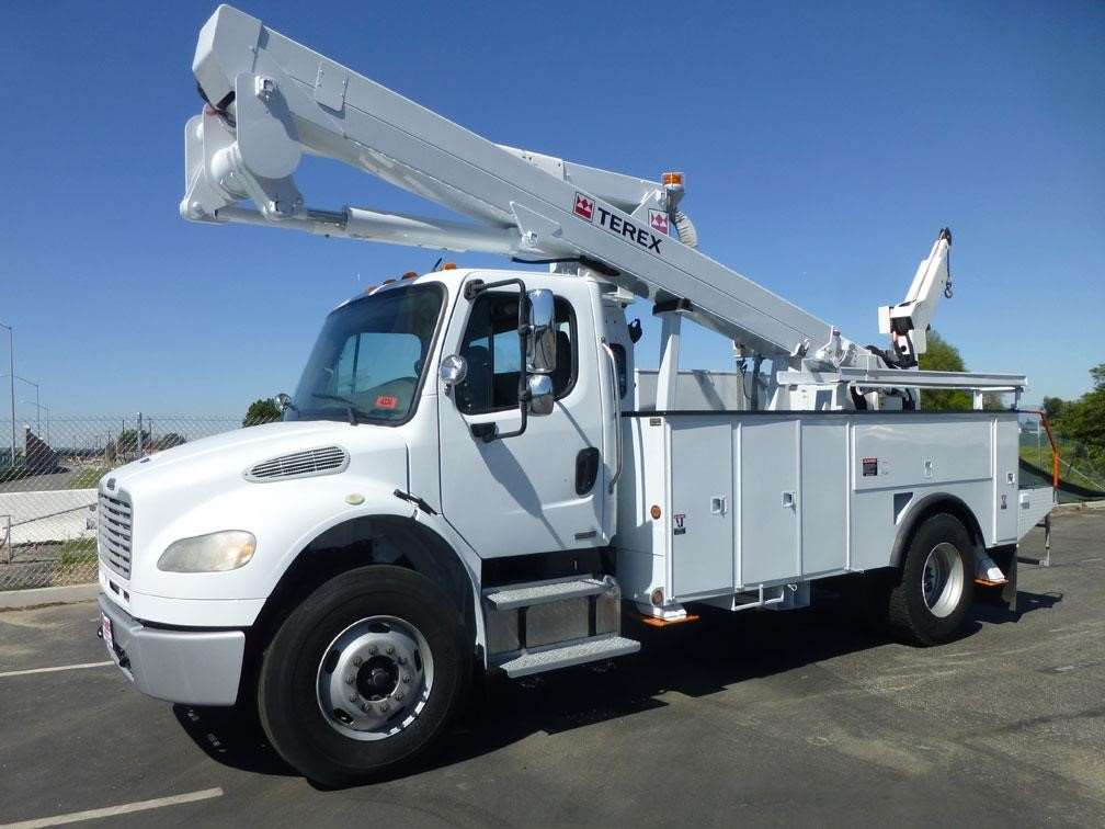 Boom Lift Truck : Terex tl m boom lift for sale hours norwalk