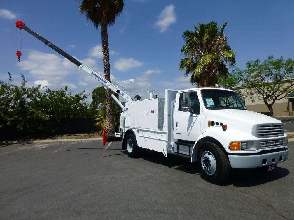 Lincoln Welders For Sale >> 2008 Auto Crane 6006H Boom Truck Crane For Sale | Norwalk ...