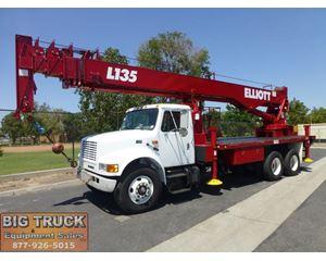 Elliott L135 Boom Truck Crane