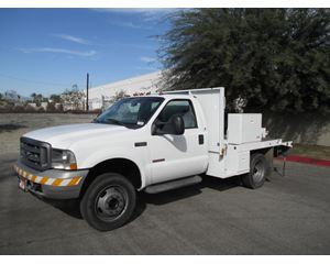 Ford F-550 Medium Duty Cab & Chassis Truck