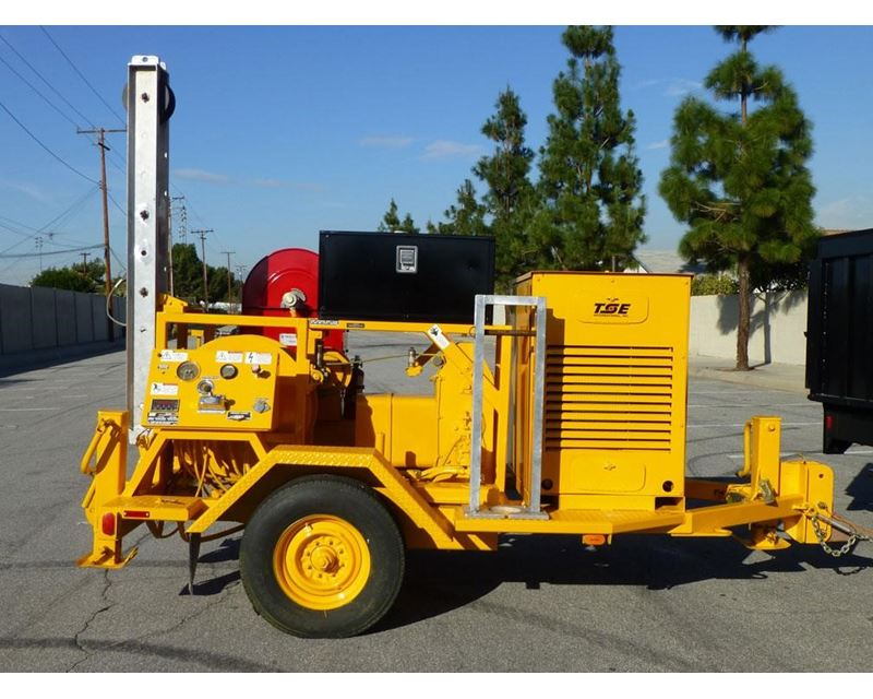 1999 Tse Up70b Cable Pulling Trailer For Sale Norwalk