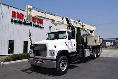 Crane Truck For Sale >> 1997 Ford Lt8000 Tandem Axle Crane Truck 8ll National 880c Crane