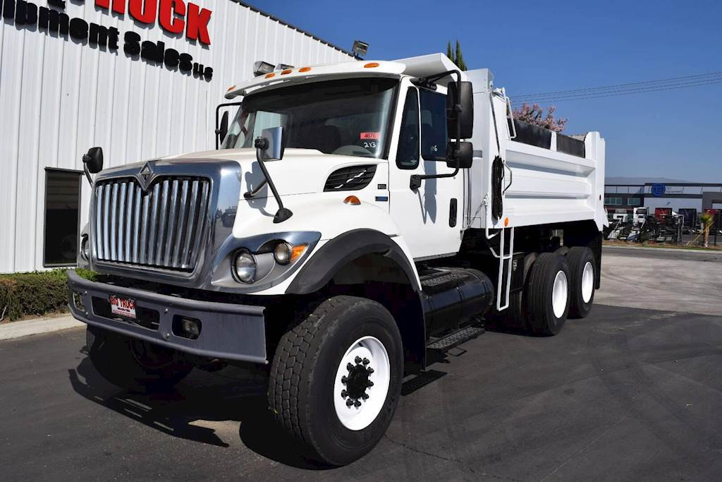 2008 International WorkStar 7400 Dump Truck For Sale, 67,696 Miles |  Fontana, CA | 4676 | MyLittleSalesman com