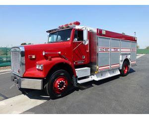 Spartan Saulsbury Fire Truck