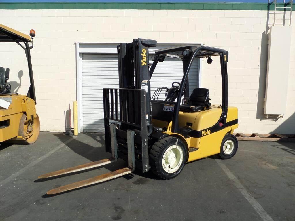 2008 Yale GP060VXEVRE087 Mast Forklift