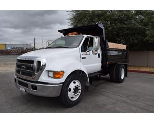 Ford F-650 Medium Duty Dump Truck