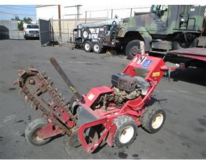 Barreto 1324D Trencher / Boring Machine / Cable Plow