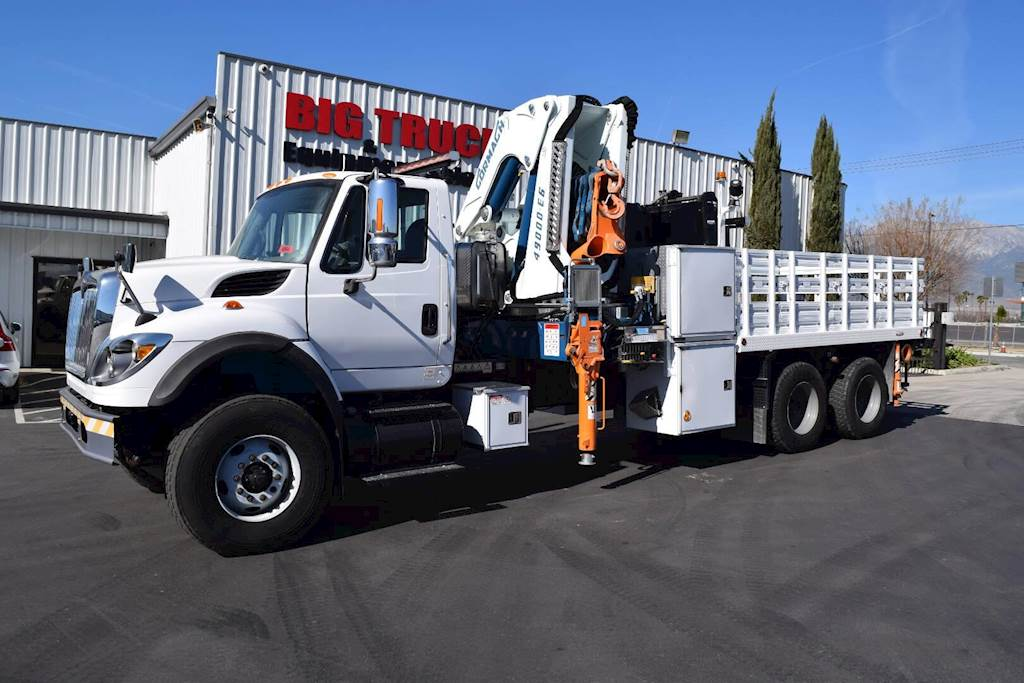 Crane Truck For Sale >> 2010 International 7400 Tandem Axle Crane Truck 425hp Automatic