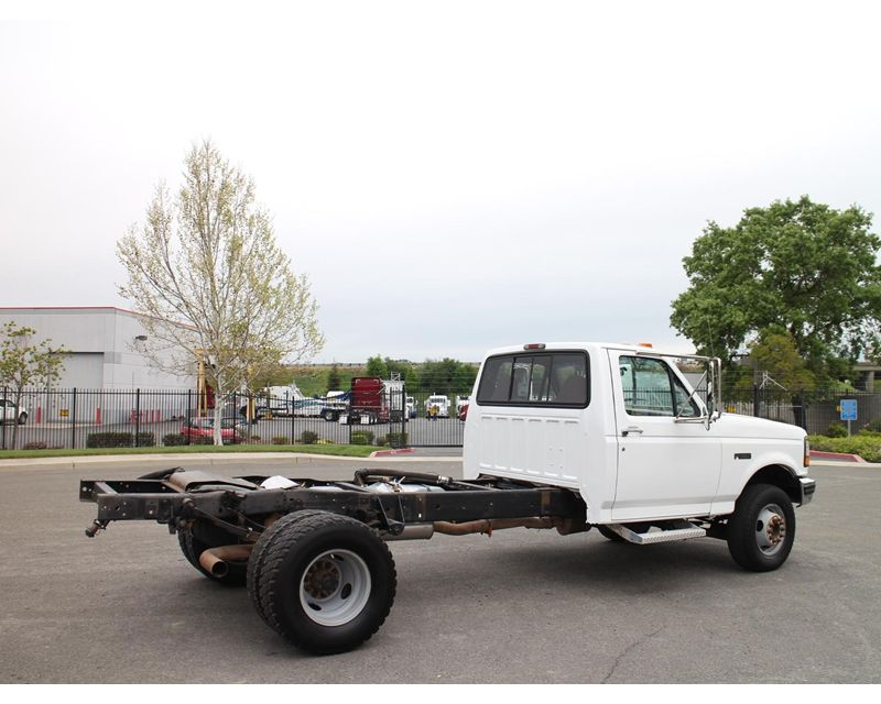1996 ford f 450 medium duty cab chassis truck for sale. Black Bedroom Furniture Sets. Home Design Ideas