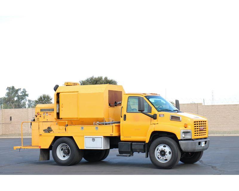 C7500 Gmc Pick Up: 2005 Gmc Topkick C7500 Sewer Truck For
