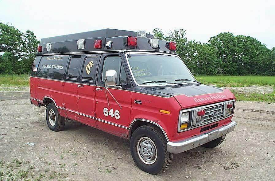 1988 Ford E-350 Ambulance For Sale   Jackson, MN   9011