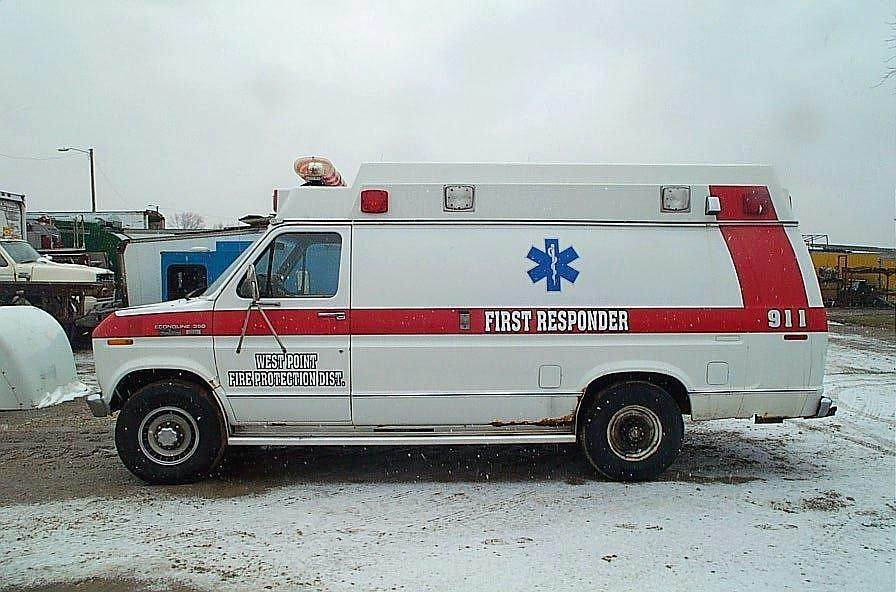 1989 Ford E-350 Ambulance For Sale | Jackson, MN | B626