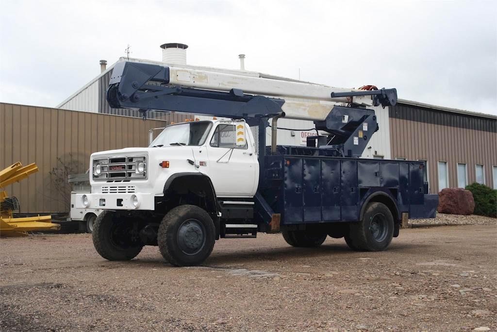 1989 GMC 7000 Bucket / Boom Truck For Sale | Jackson, MN | B871 |  MyLittleSalesman com