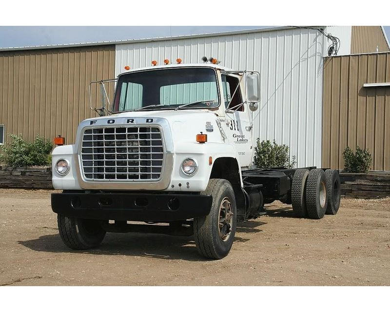 1984 ford f 800 heavy duty cab chassis truck for sale jackson mn. Black Bedroom Furniture Sets. Home Design Ideas