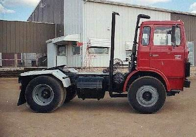 1980 Magirus 200A13FL Cabover Day Cab For Sale | Jackson, MN