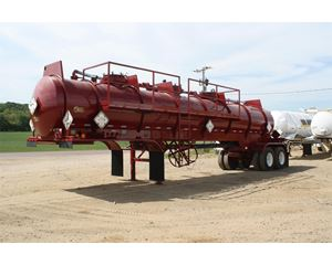 Worley Welding Works Chemical / Acid Tank Trailer