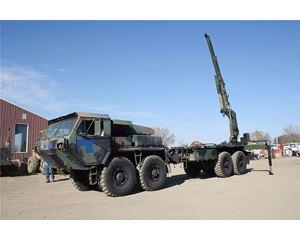 Oshkosh MK48 Crane Truck