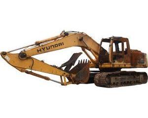 Hyundai ROBEX 210 LC-7 Crawler Excavator