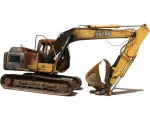 John Deere 120C Crawler Excavator
