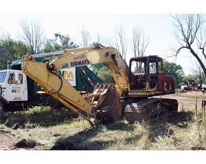 Komatsu PC160 LC-7 Crawler Excavator