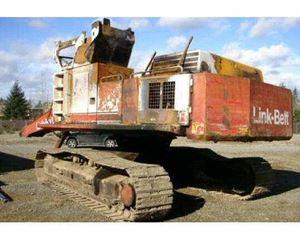 Link-Belt LS-4300C Crawler Excavator
