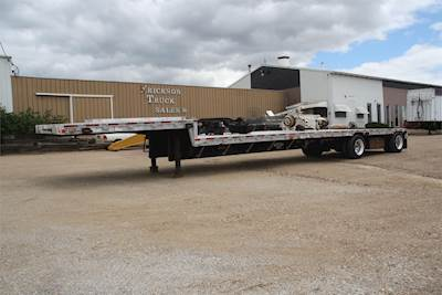 Step Deck Trailer >> 1996 Wilson Drop Deck Trailer For Sale Jackson Mn G906