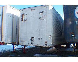 Brown Dry Van Trailer