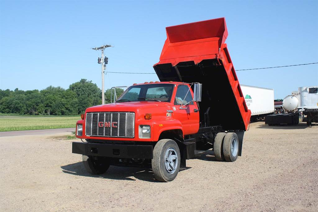 1994 GMC TOPKICK C7500 Medium Duty Dump Truck For Sale | Jackson, MN | F900  | MyLittleSalesman com
