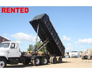 Taylor End Dump Semi Trailer