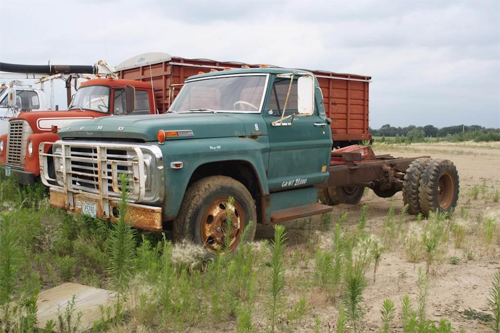 Grain Trucks For Sale >> 1970 Ford 600 Farm Grain Truck For Sale Jackson Mn G674 Mylittlesalesman Com