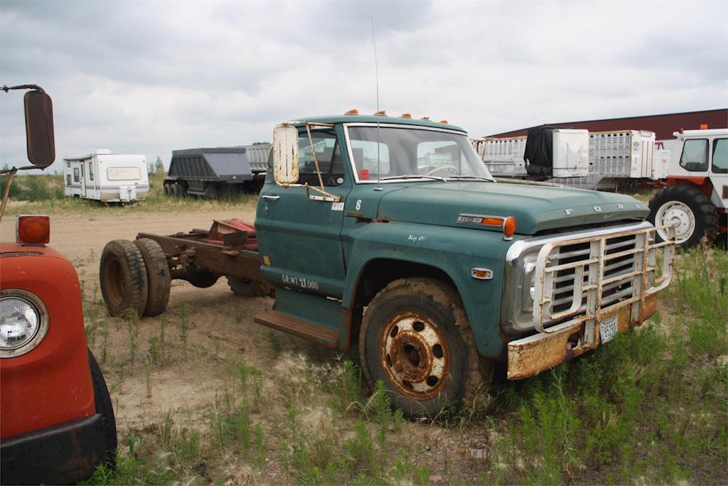 1970 Ford 600 Farm Grain Truck For Sale Jackson Mn