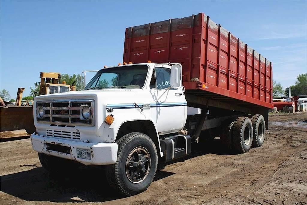 1974 Gmc Topkick C6500 Farm Grain Truck For Sale Jackson Mn C695 Mylittlesalesman Com