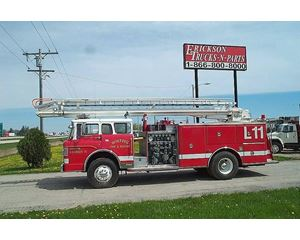 Ford 8000 Fire Truck