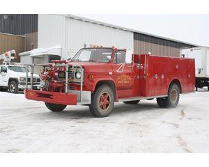 GMC 7000 Fire Truck
